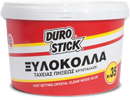 Ξυλόκολλα ταχείας πήξεως κρυσταλλιζέ DUROSTICK Νο 35
