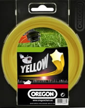 Κίτρινη κλωστή χορτοκοπτικού - 2.0 mm x 15 m StarLine OREGON 99152E