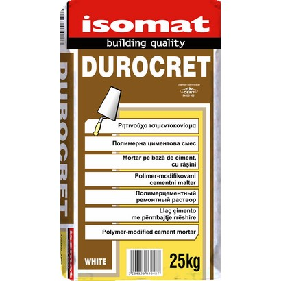 Isomat DUROCRET Ρητινούχο επισκευαστικό τσιμεντοκονίαμα