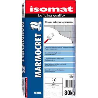 Isomat MARMOCRET 1 Έτοιμος σοβάς μονής στρώσης