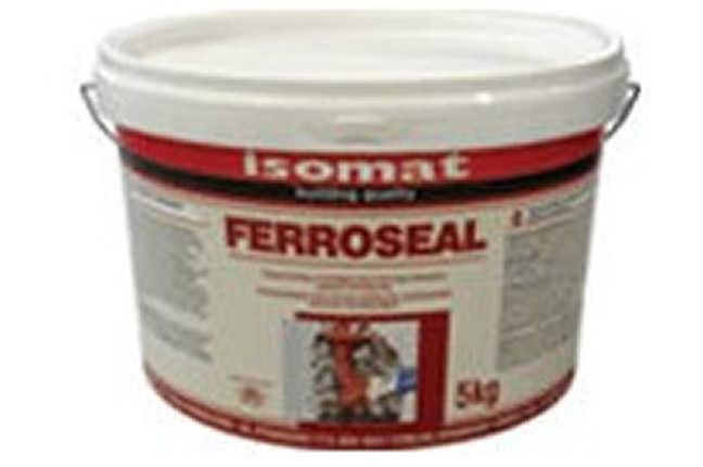 Isomat FERROSEAL Τσιμεντοειδής αντιδιαβρωτική επάλειψη οπλισμού