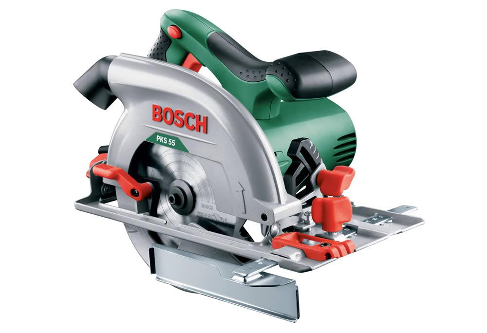 Δισκοπρίονο 160mm 1200W Bosch PKS 55 0603500000