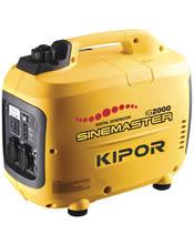 Μονοφασική Γεννήτρια 2KVA (1600W) Bενζίνης Κλειστού Τύπου KIPOR IG 2000