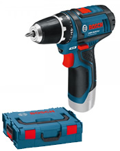 Δραπανοκατσάβιδο μπαταρίας Bosch GSR 10,8-2-LI Professional Solo L-Boxx (060186810D)