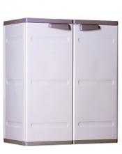 Ντουλάπα πλαστική μικρή δίφυλλη με 2 ράφια 72x42x89 ΔΙΑΣ III 2003