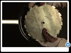 McCulloch - Πώς τοποθετώ δίσκο με 8 δόντια;